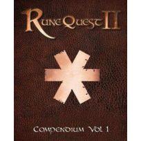 Mongoose - Jeux de rôle - Runequest 2 - Compendium Vol 1
