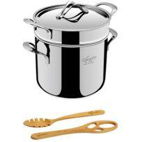 Lagostina - 193020922 - set marmite + panier pastaiola 22cm + accessoires La Pasta