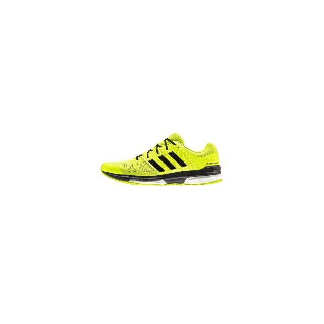 design de qualité 754a1 13880 Adidas - Chaussures Revenge Boost 2 jaune noir - pas cher ...