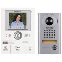 AIPHONE - Interphone vidéo couleur grand angle avec zoom Kit -JKS1AEDV