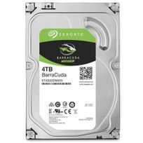 "SEAGATE - Disque dur interne Barracuda 3,5"" 4000 Go - Bulk - 5900RPM - 64Mb - SATA 6.0Gb/s - ST4000DM005"