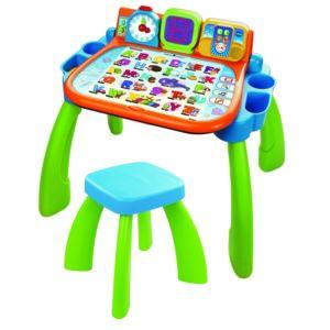 vtech magi bureau interactif 3 en 1 mixte 154605 pas cher achat vente jouet lectronique. Black Bedroom Furniture Sets. Home Design Ideas