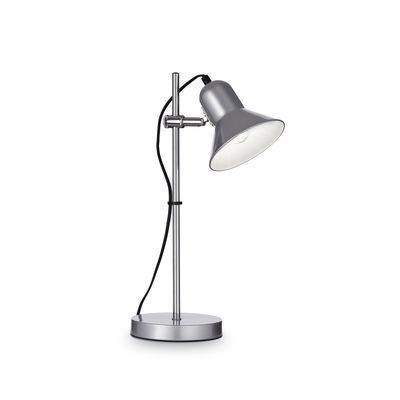 Boutica-design Lampe à poser Polly Argent 1x60W - Ideal Lux - 109091