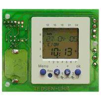 Elka - Module de minuterie hebdomadaire / horloge enfichable 2 canaux