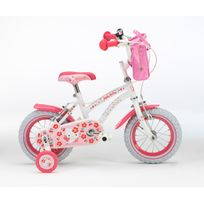 Sanrio - Vélo 12 Hello Kitty cherry