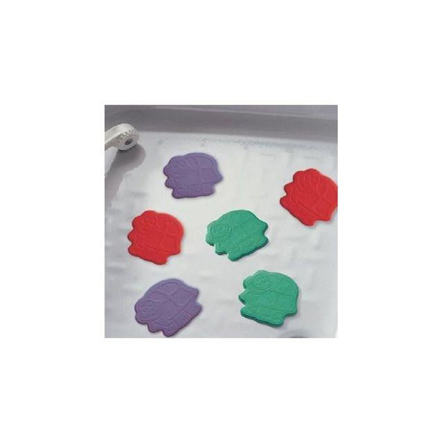 Ridder tapis antid rapant mini pour baignoire et douche xxs turtle multicolore pas cher - Tapis antiderapant pour douche ...