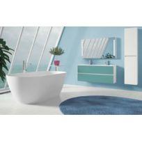 Riho - Ensemble meuble & lavabo Cambio Sentito Set 22 en bois stratifié 120x48x H 57 cm