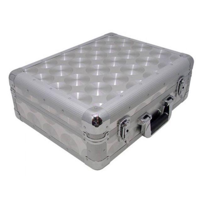 Zomo - Flight Case Cd et Vinyles Cdj 2 Xt Silver/Aluminium
