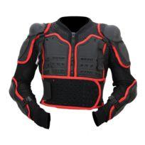 Karno-motorsport - Kt507 Pare pierres plastron motocross Karno avec dorsale intégrée