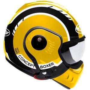 roof boxer v8 lp20 black yellow white pas cher achat vente accessoires casques rueducommerce. Black Bedroom Furniture Sets. Home Design Ideas