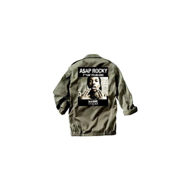 Veste Kin Militaire Magic Rocky F Asap Magiccustom Custom wqCA7AZ