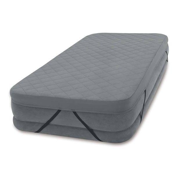 intex surmatelas pour matelas gonflable 1 place pas cher achat vente coussins rueducommerce. Black Bedroom Furniture Sets. Home Design Ideas