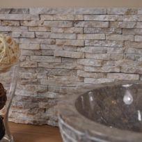 Wanda Collection - Parement en pierre naturel marbre brut crème