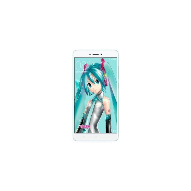 Auto-hightech Smartphone avec 3 + 32 Go 5,5 pouces Octa-core 4G Miui 8.1 Os - Cyan
