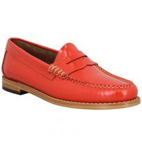 Bass Weejuns - Gh Bass & Co Weejuns Penny Wheel vernis Femme-39-Corail