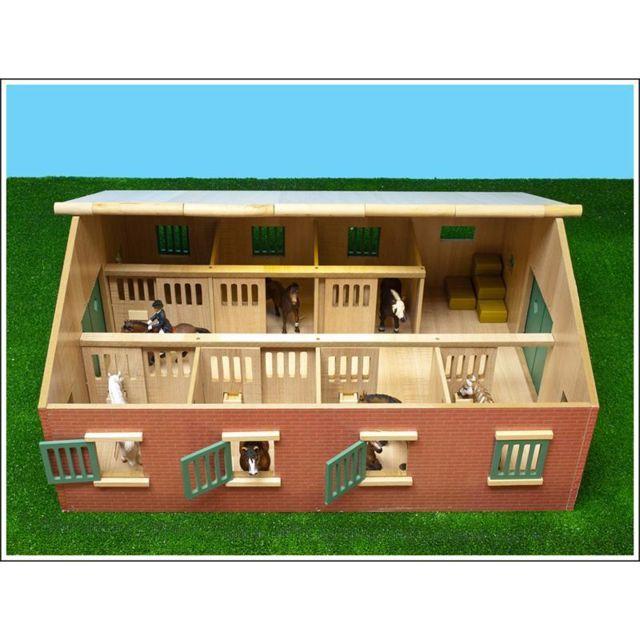box en bois pour jouet chevaux