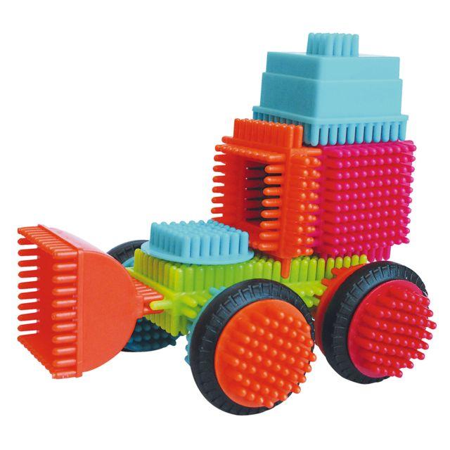 Bristle Blocks - Blocs de construction Seek'O Blocks : Tube de 60 pièces