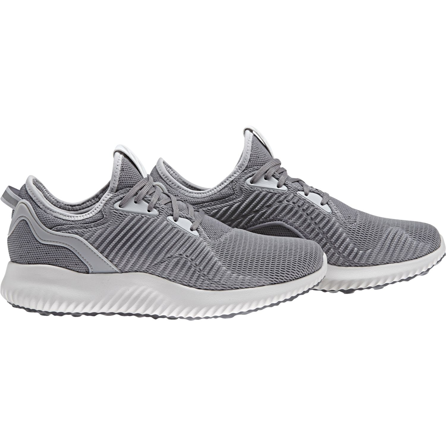 Adidas - Chaussures femme alphabounce Lux gris/gris clair/blanc - 37 1/3 - pas cher Achat / Vente Chaussures running