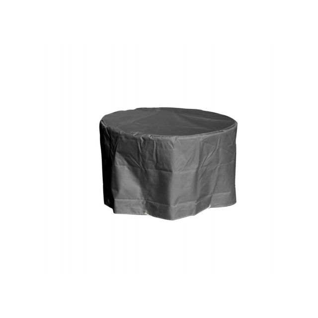 Green Club Housse table ronde Ø 120 x h 70 cm Anthracite