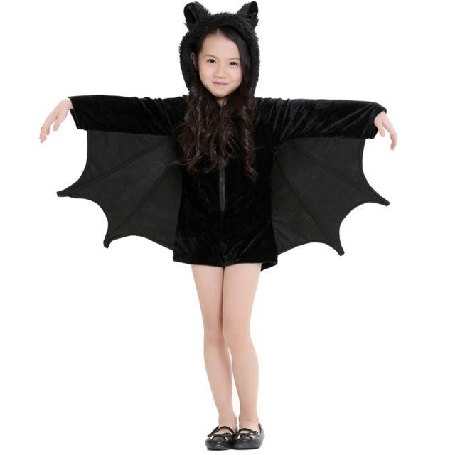 Wewoo - Déguisement Costume d Halloween Enfants et femmes Vêtements de  vampire chauve-souris 3bfcd61b771