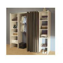 armoire achat armoire pas cher rue du commerce. Black Bedroom Furniture Sets. Home Design Ideas