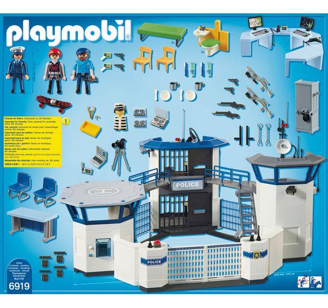 PLAYMOBIL - Commissariat de police avec prison - 6919