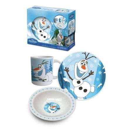 Disney Set Déjeuner 3 pièces - Olaf - Reine des Neiges