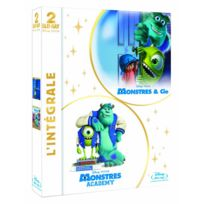 Blu-Ray - Coffret Monstres Academy / Monstres Et Cie