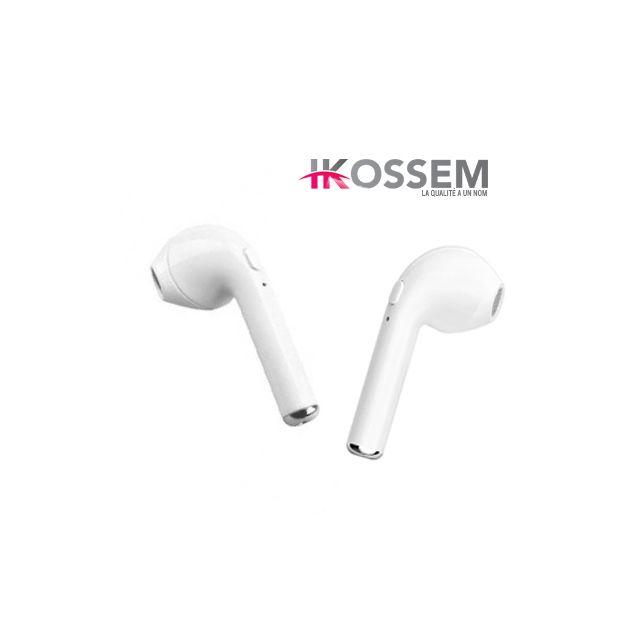 Générique - Paire D écouteur Sans Fil Bluetooth Intra-auriculaires Airpods  Pour Iphone,samsung, Htc, Androïd - pas cher Achat   Vente - RueDuCommerce 9264d14fc10c