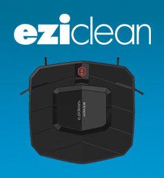 E-ZICLEAN Plus fin, équipé d'une batterie Lithium et d'une navigation méthodique encore plus performante