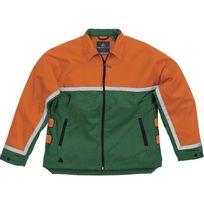 DELTA PLUS - VESTE BUCHERON DOUBLURE AVEC COMPLEXE ANTI-COUPURE Vert / Orange EPICEA III - EPIC3VE0