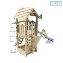 Wickey - Aire de jeux Captain Blue avec toboggan