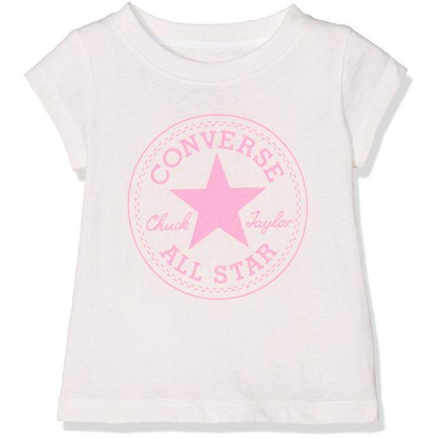 t-shirt fille converse