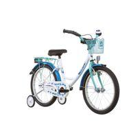 Vermont - Vélo Enfant - Girly - Vélo enfant 18 pouces - bleu