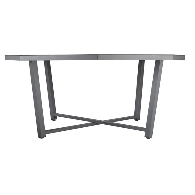 HYBA - Table octogonale Canberra - pas cher Achat / Vente ...
