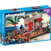 PLAYMOBIL - SuperSet Ilôt des pirates - 6146