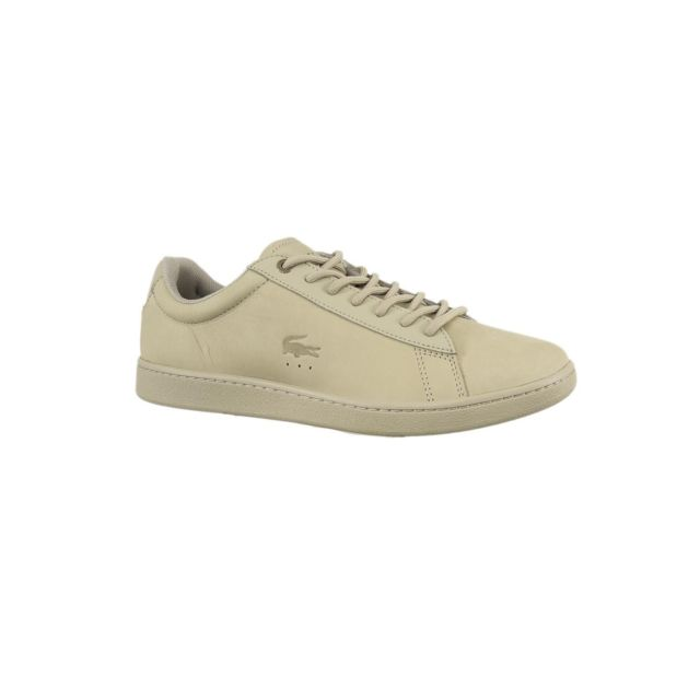 61d1953aed0 Lacoste - Baskets mode 35spm0004 carnaby beige 40 - pas cher Achat   Vente  Baskets homme - RueDuCommerce