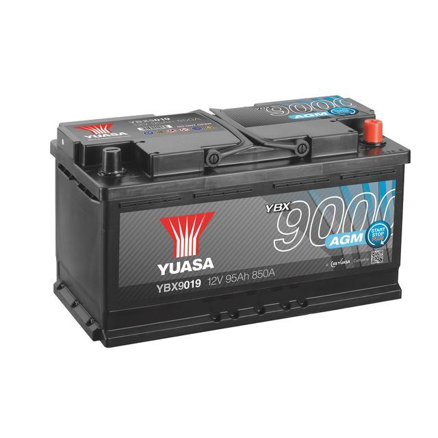 yuasa batterie ybx9019 start stop plus agm pas cher achat vente batteries rueducommerce. Black Bedroom Furniture Sets. Home Design Ideas