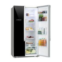 KLARSTEIN - Grand Host XL Combiné réfrigérateur américain & congélateur - Capacité 517 litres - Classe énergétique A++ - Design noir