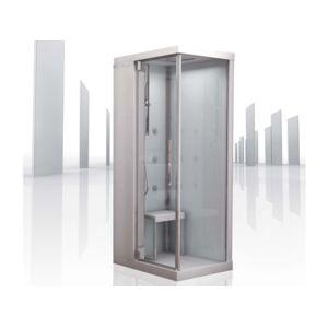 kinedo cabine de douche int grale brumisante infinity 100 80 x 100 x 206cm pas cher achat. Black Bedroom Furniture Sets. Home Design Ideas