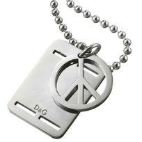 Dolce & Gabanna - Dolce Gabbana - Collier Peace - 60 cm