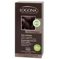 Logona - Soin colorant végétal bio Chataigne
