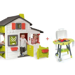 Smoby Cabane Enfant Friends House Barbecue
