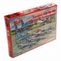 Icm - 1:72 - Soviet Air To Air Aircraft Armament R-27ER, R-27ET, R-7 - 72212