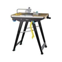 Wolfcraft - Etabli 3 en 1 Table de sciage, table de travail et table pour défonceuse Master Cut 1500