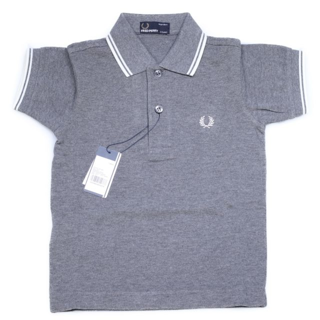 280d68e1be Fredperry - Polo Fred Perry Sy1200 557 Gris - pas cher Achat / Vente ...