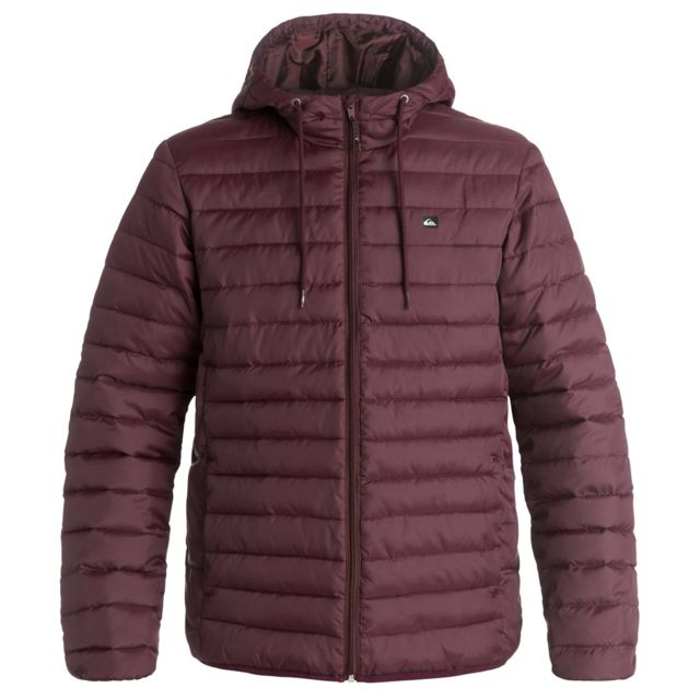 cd55e9788682 Quiksilver - Quiksilver Everyday Scaly Doudoune Homme - Taille Xxl - Rouge