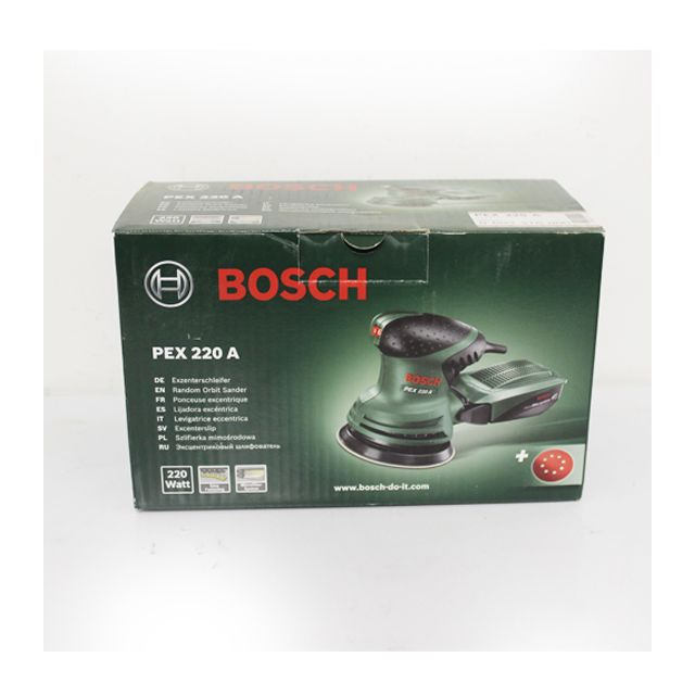 bosch ponceuse excentrique pex 220 a pas cher achat. Black Bedroom Furniture Sets. Home Design Ideas
