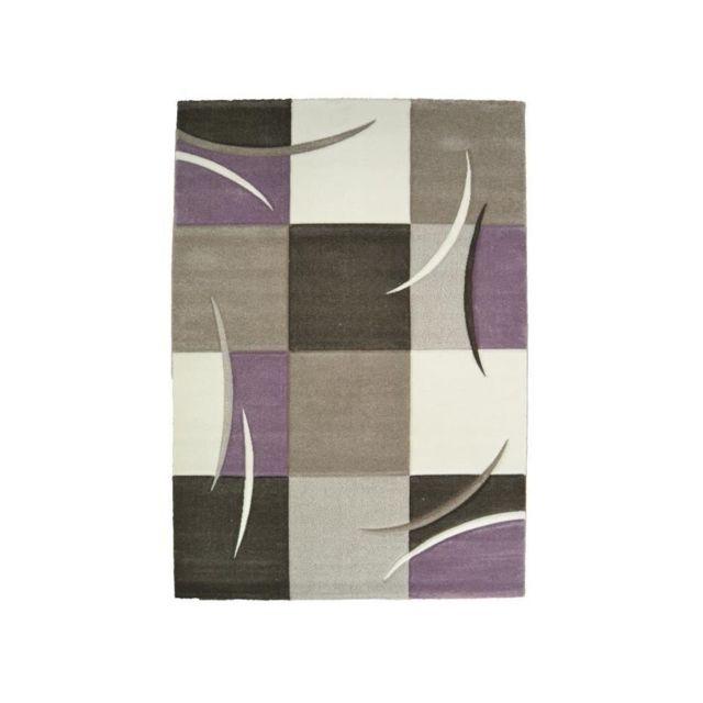 Ella Tapis de salon 120x170cm - Pastel violet