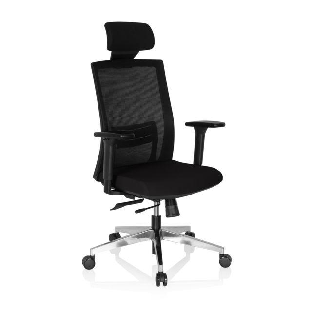 Hjh Office Chaise bureau fauteuil Captiva assise tissu